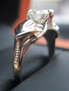 Battlestar Galactica Engagement Ring