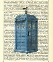 Doctor Who - TARDIS Dictionary Print