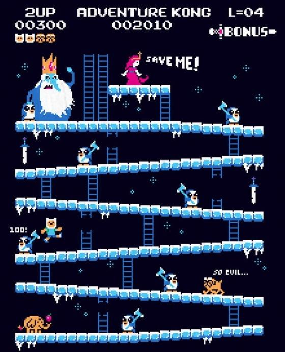 Donkey Kong Mashups