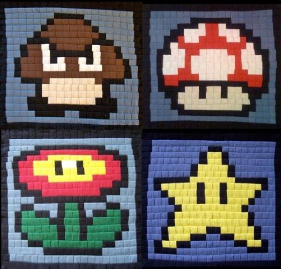 How to Sew Pixel Art