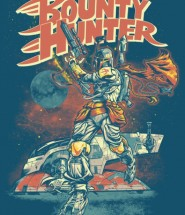 Boba Fett Bounty Hunter Print