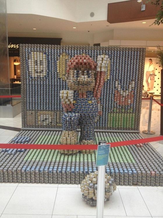Super Mario Cans