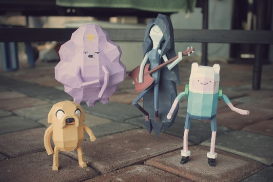 Adventure Time Paper Craft