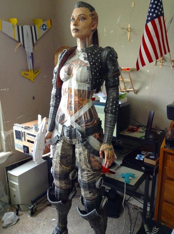Mass Effect Papercraft