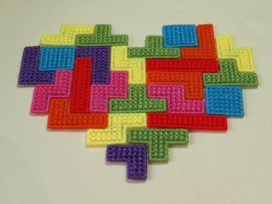Tetris Heart Puzzle