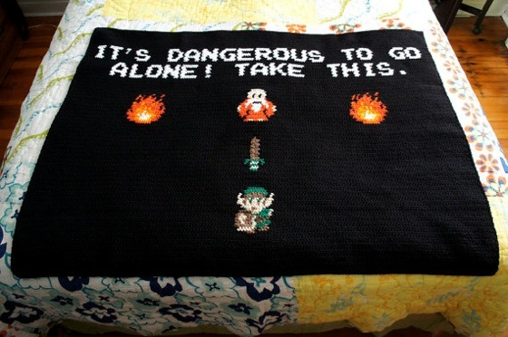 Legend Of Zelda Blanket By Penelopeandclyde Nerd Crafting