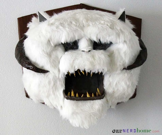 DIY Wampa Head - Star Wars