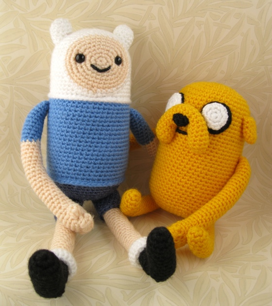 Adventure Time Amigurumi by LucyRavenscar - Nerd Crafting