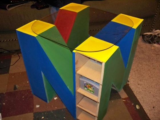 Nintendo 64 End Table