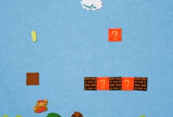 Paper Mario Animation