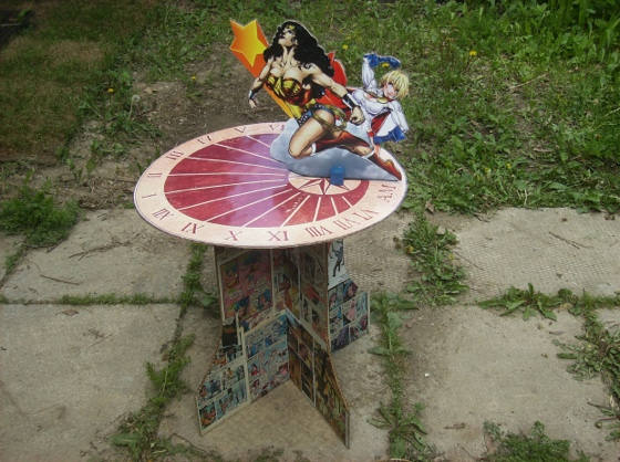 Superhero Sundial
