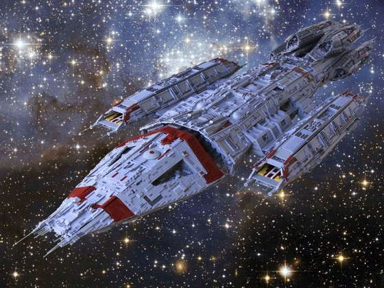 Battlestar Lego Ship