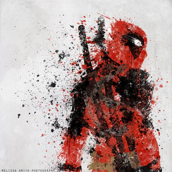 Splatter Paint Superheroes