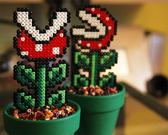 Potted Piranha Plants