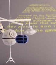 Star wars themed baby room