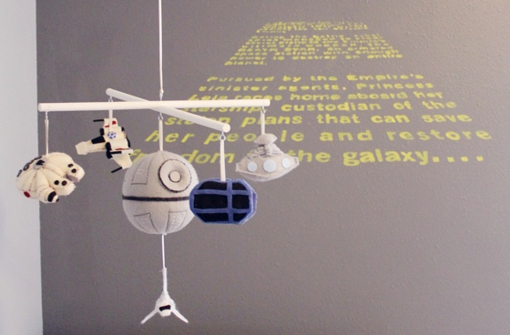 Star wars themed baby room
