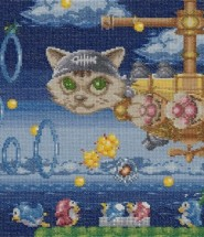 Video Game Cross Stitching