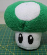 DIY 1up Mushroom Plush