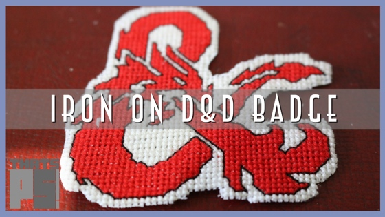 Dungeons and Dragons iron on badge