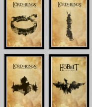 Lord of the Rings and Hobbit Poster