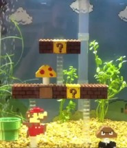 Super Mario Bros - Fish Tank