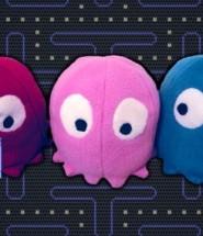 Pacman Ghost Plush