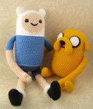 Finn and Jake Amigurumi