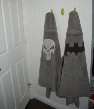 Superhero Bath Towels