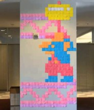 Post it arcade animation